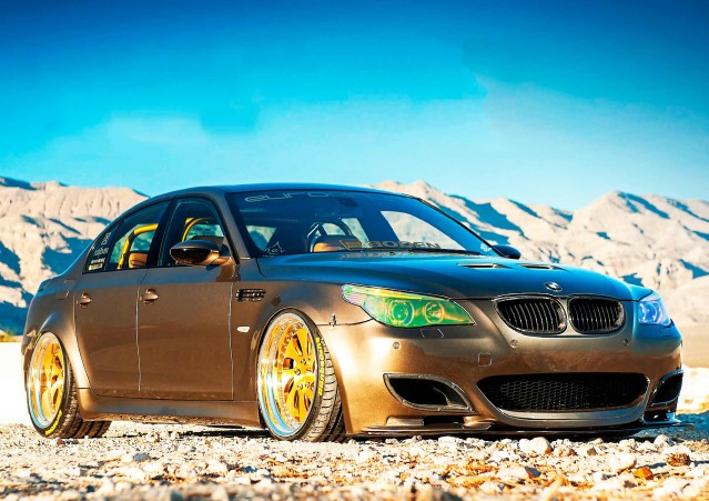 Wide-body BMW M5 E60
