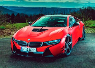 2017 BMW i8 carbon-clad version AC Schnitzer ACS8 road test