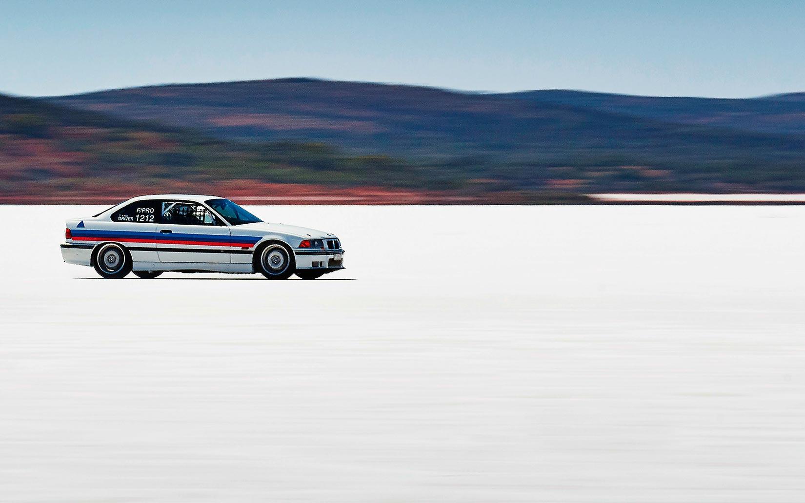 The Worldu0027s Fastest BMW M3 E36u2026 On Salt!