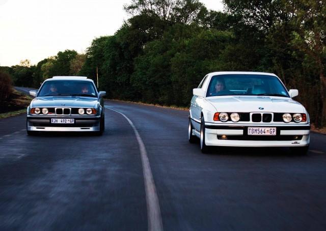 Alpina B10 E34 vs. AC Schnitzer S5 BMW E34