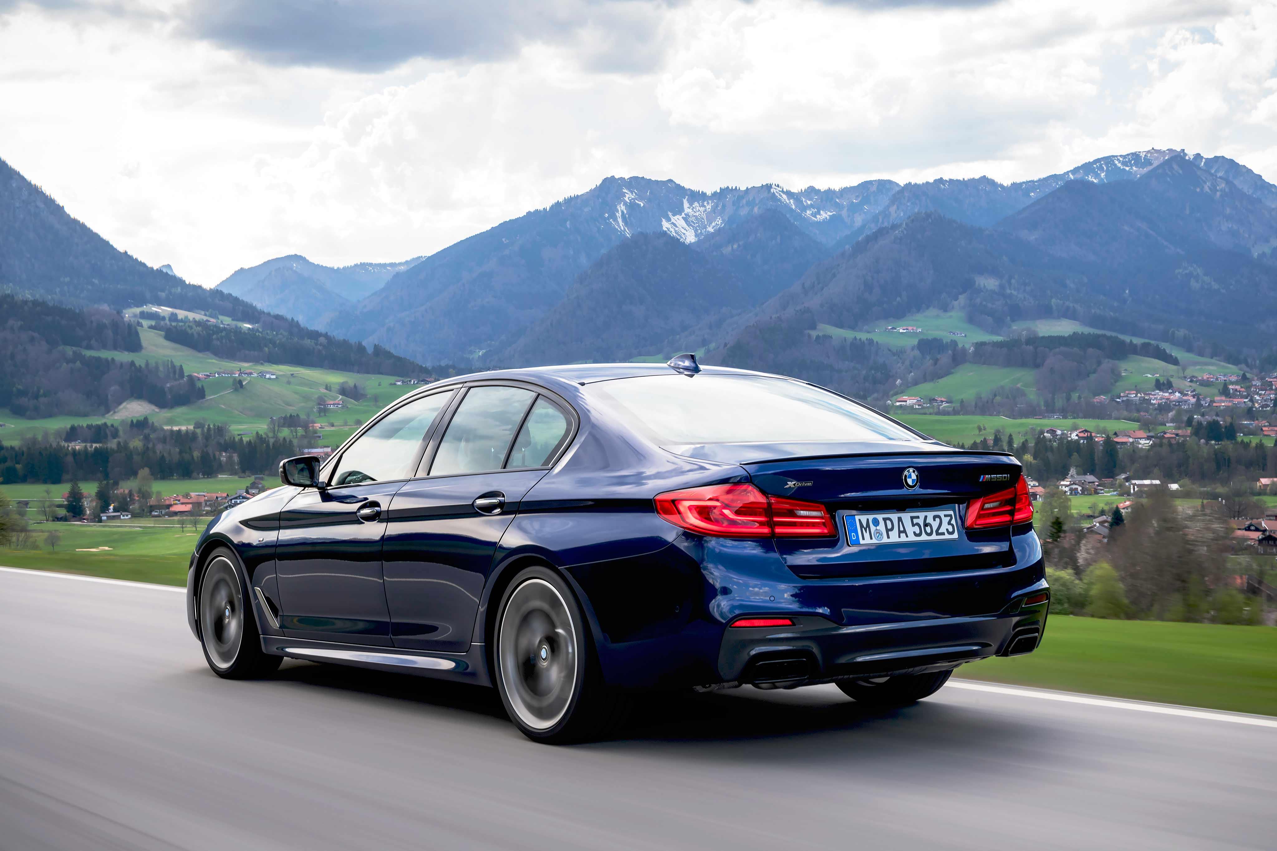 2017 BMW M550i xDrive G30 test drive - Drive-My Blogs - Drive