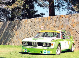 Willi Martini's BMW 3.0 CSL Batmobile E9