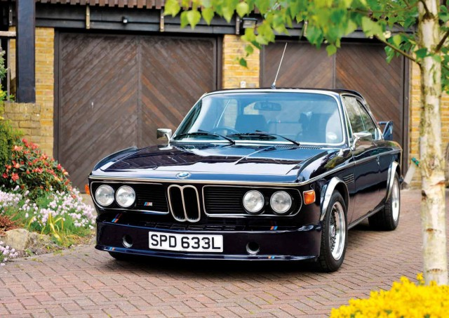 Me and my car - John Wilkinson has owned his BMW 3.0 CSL E9 for 31 years