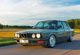 BMW E28 S50 engined