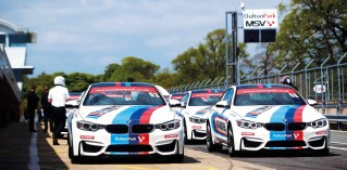 Bob Harper samples the delights of the new BMW M Driving Experience - BMW M4 F82
