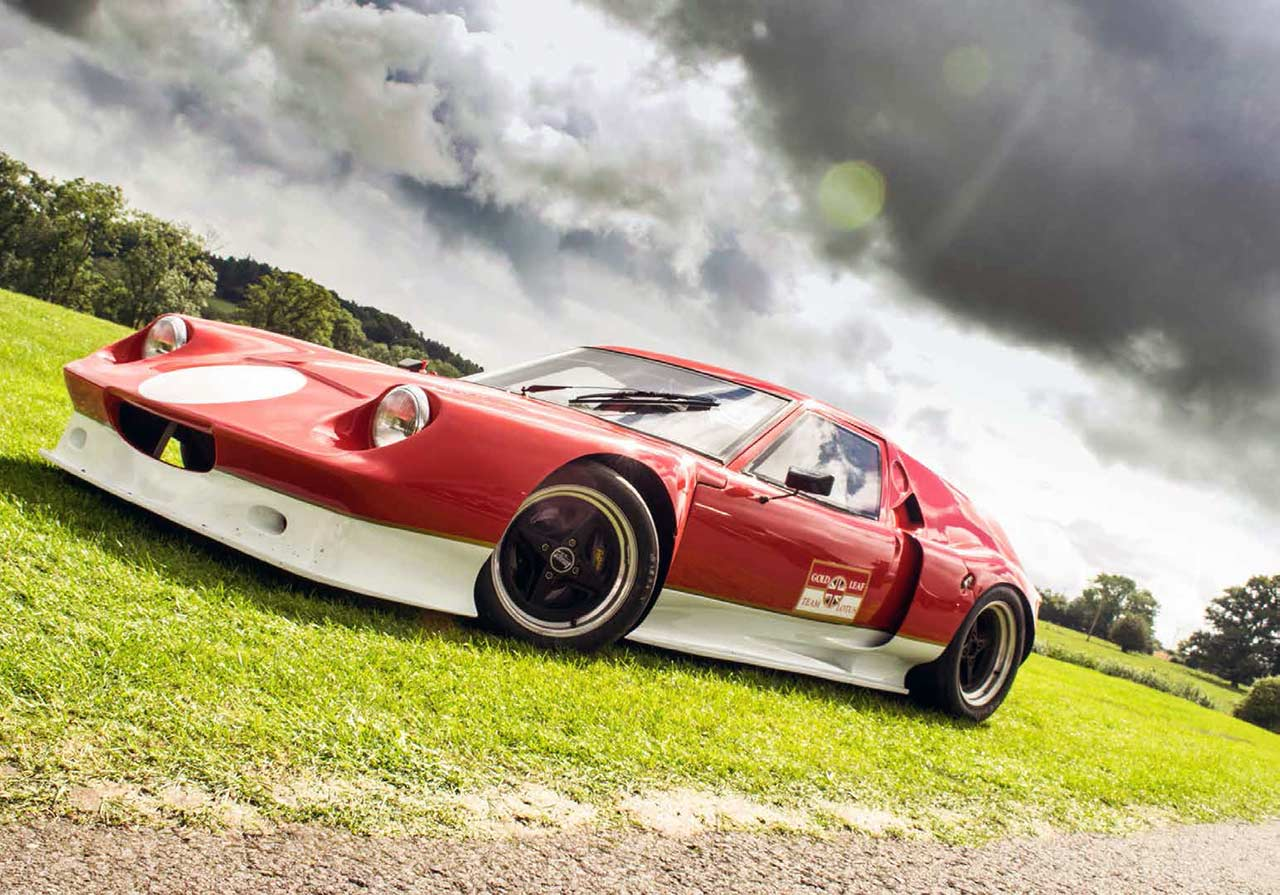 Lotus Europa Banks Engineering Type 62 with 2 4-litre Ford