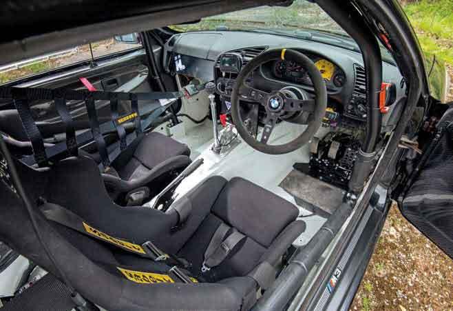 Beautiful BMW M3 E36 Track Car Interior. U201c