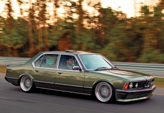 Air-ride BMW 735i E23