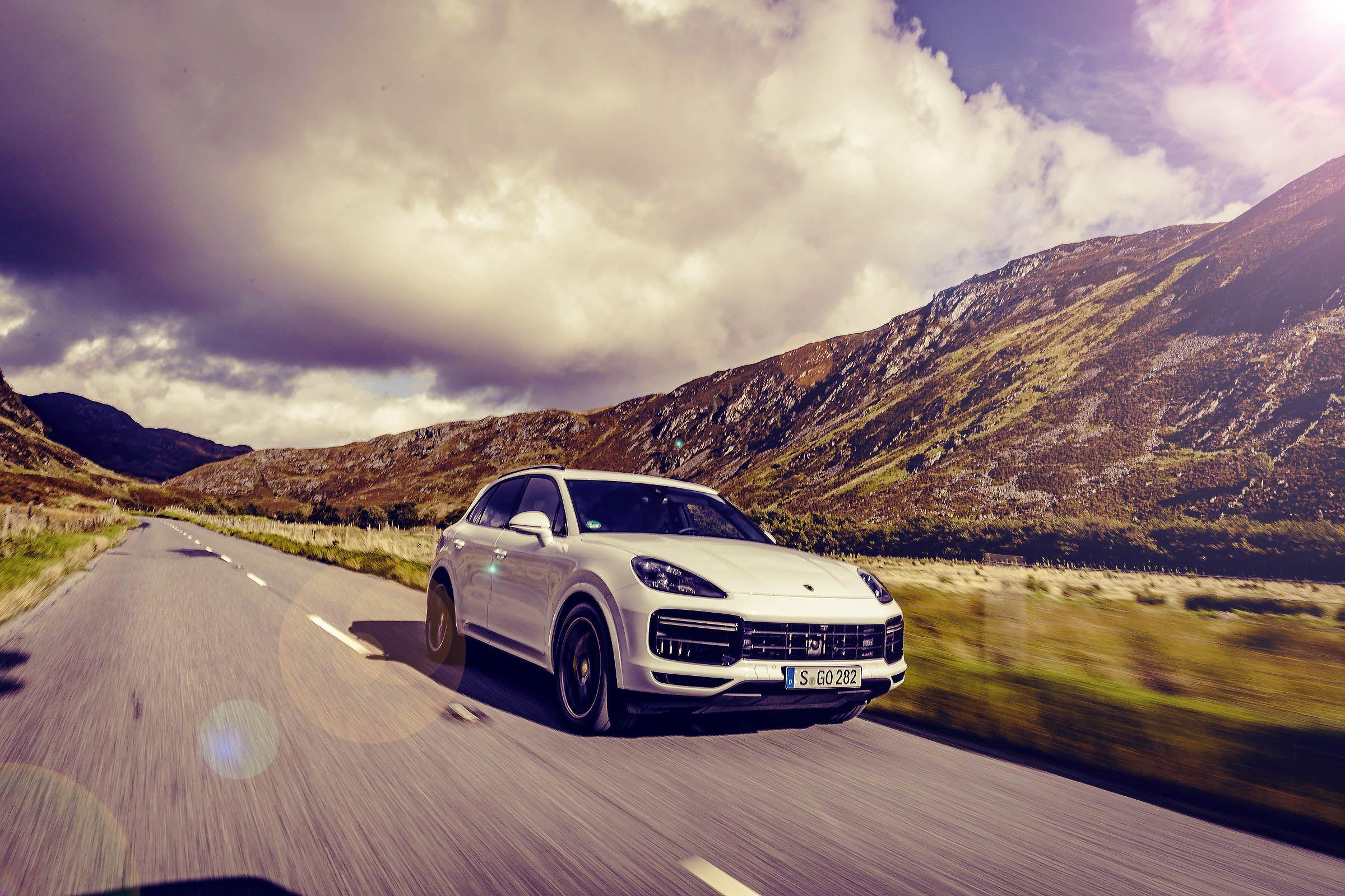 2018 Porsche Cayenne Turbo Typ Po536 Road Test Drive My
