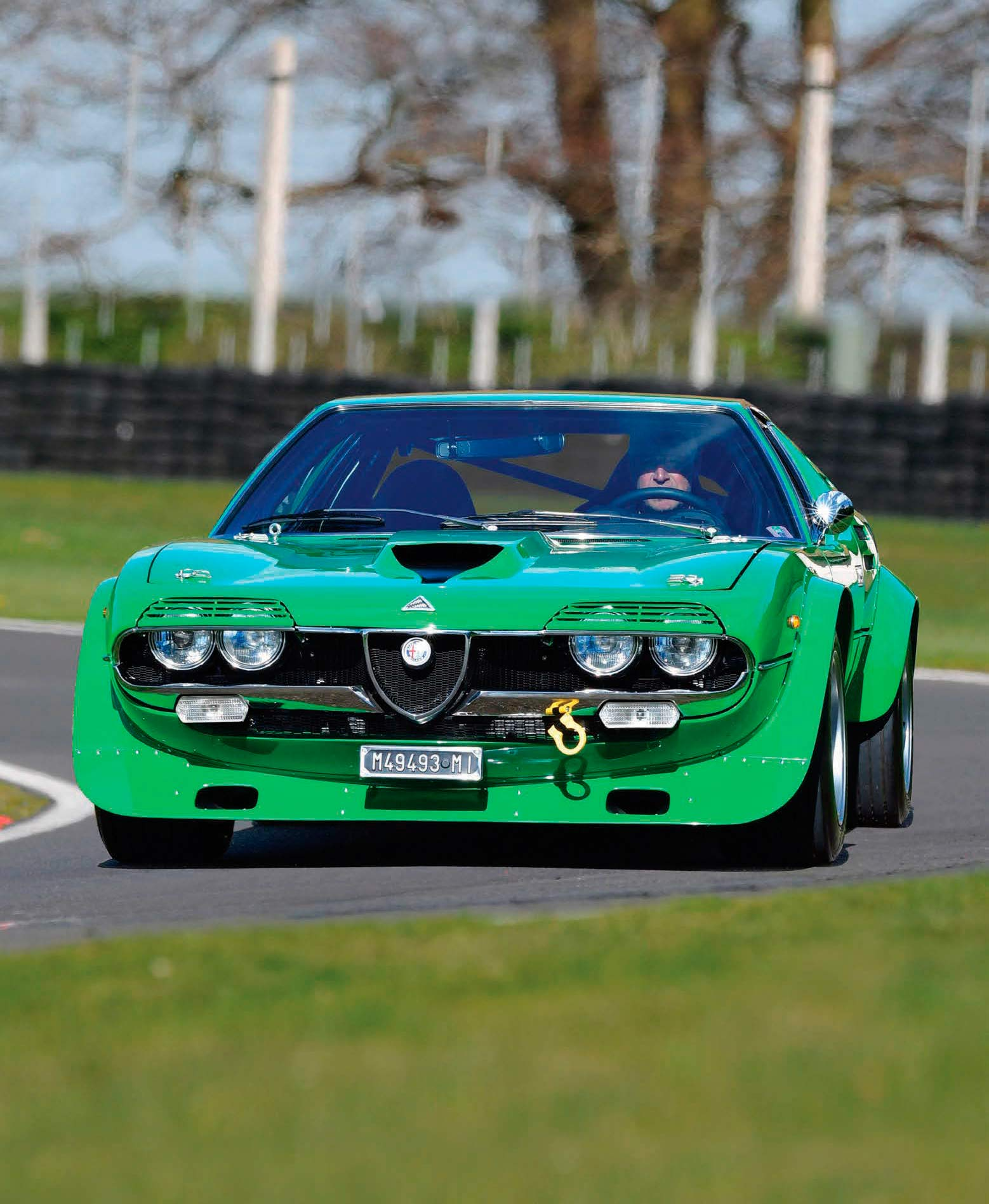 1973 Alfa Romeo Montreal Group 4 race car track & road test - Drive ...
