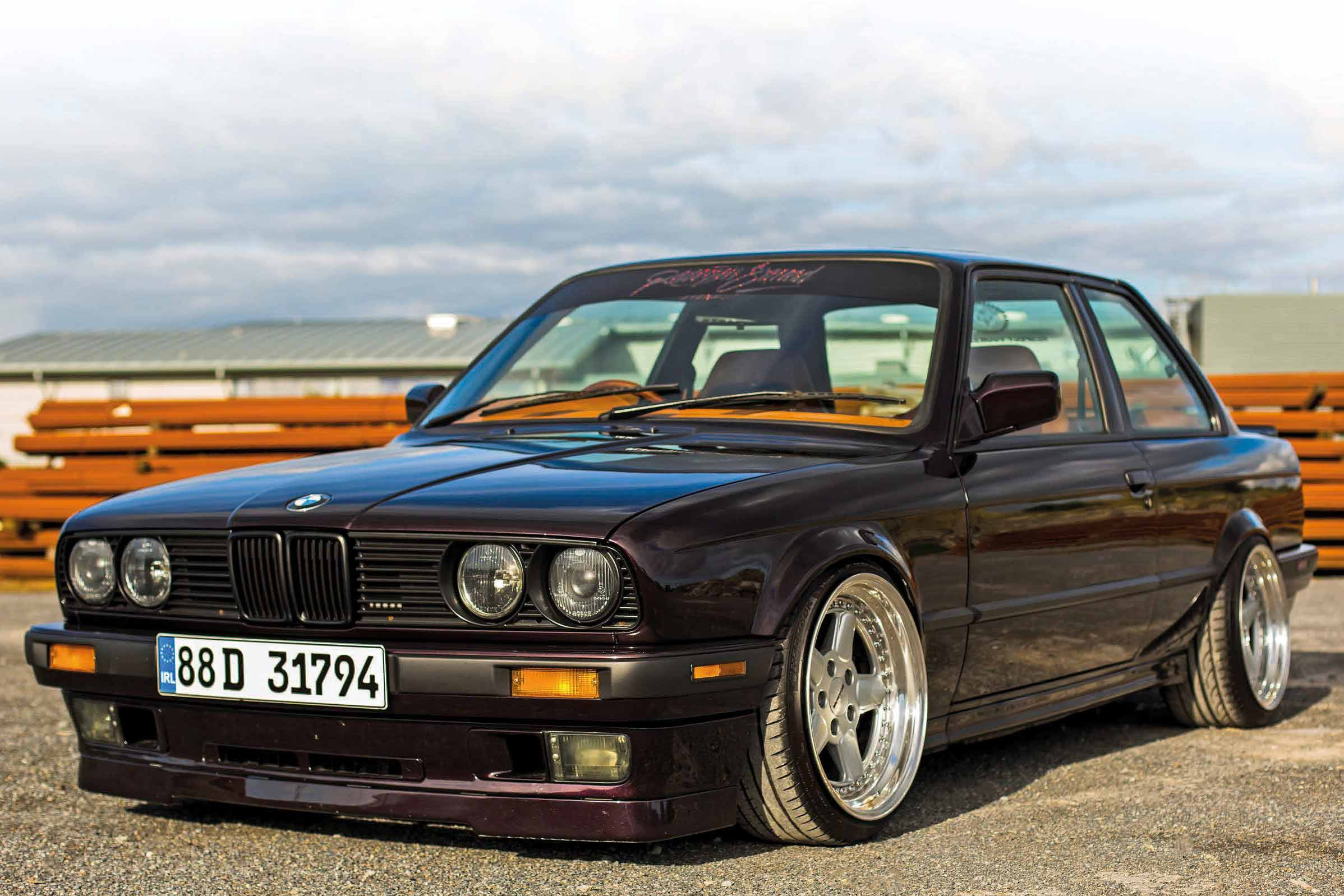 Purple Reign Fully Custom Bmw E30 Coupe M52 Engined Drive My Blogs