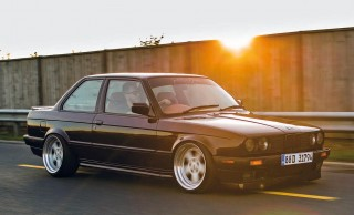 Purple Reign fully-custom BMW E30 Coupe M52-engined