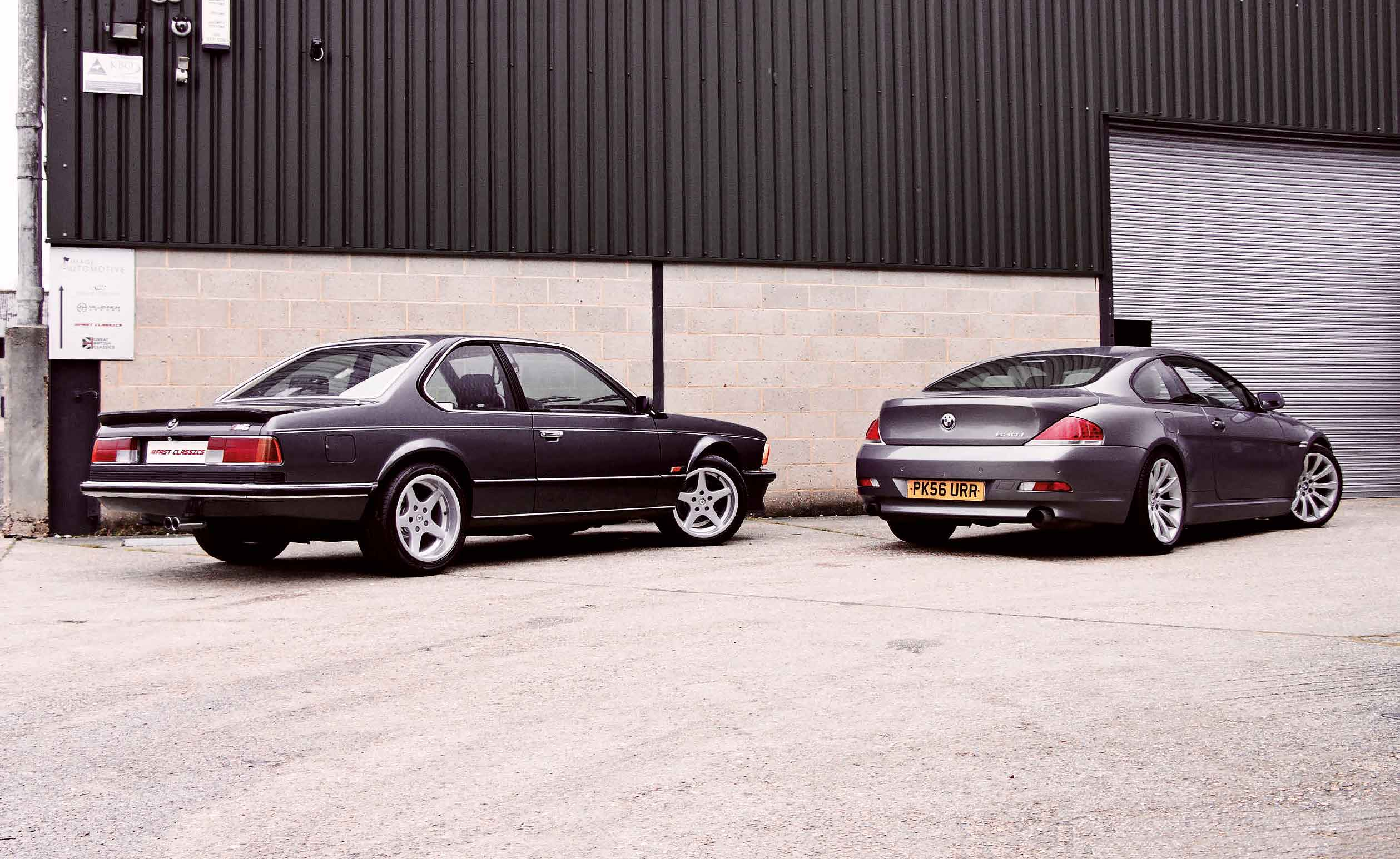 Battle of the Sixes BMW M635CSi E24 vs. BMW 630i E63
