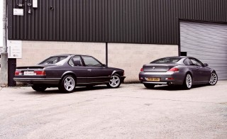 Battle of the Sixes BMW M635CSi E24 vs. BMW 630i E63