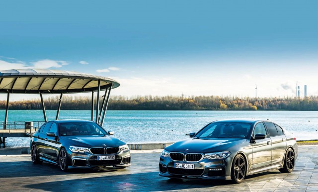 2018 BMW 540i G30 and M550i G30 AC Schnitzer tuned fully tested