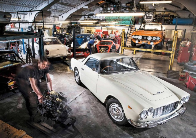 Epic Restoration Lancia Flaminia GT Touring