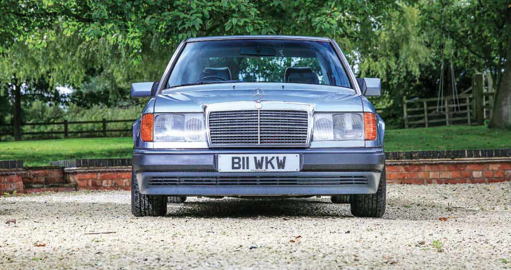 Adam Adams has one of the best Mercedes-Benz 300D W124 left