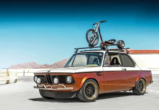 BMW 2002 Honda F20C-powered fully-custom classic