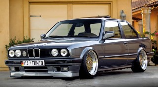 Sonny & Share Father and son built BMW 325iS E30