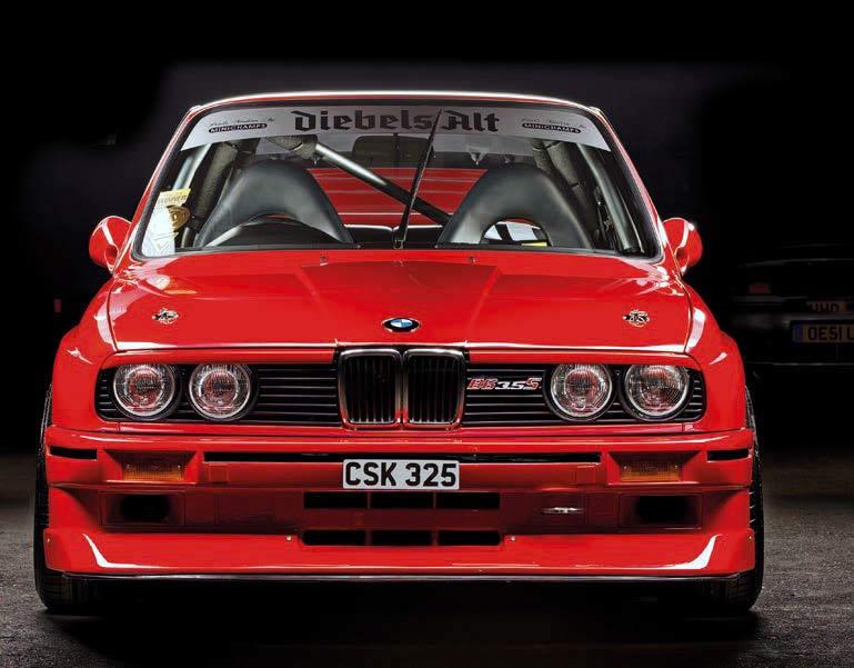 BMW Alpina B6 >> BMW 316 E30 transformed into fully-custom M20-powered ...