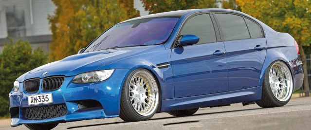 410hp-tuned M3-look BMW 335d E90