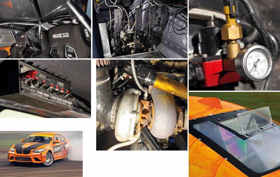 Twin-turbo 1000hp Chevrolet LSX376 V8-engined BMW M2 F87