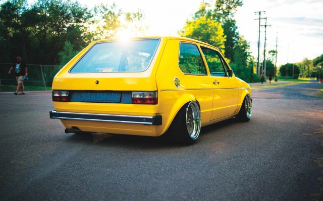 Dirty Rabbit Volkswagen Golf Mk1 1.6D - naturally-aspirated diesel never looked so good