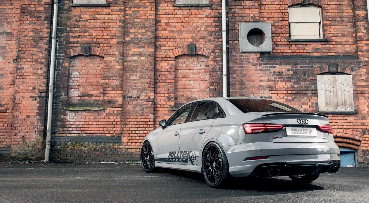 2018 Milltek Sport My17 Audi Rs3 8v Saloon Drive My