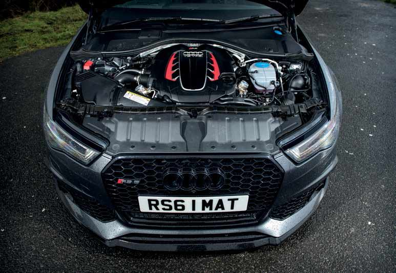 2017 Audi RS6 Avant Performance C7 700bhp REVO Stage 1 tune by Unit