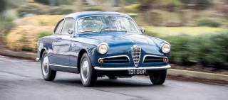 Life Cycle 1957 Alfa Romeo Giulietta Sprint 101-Series Coupe from Libya to London