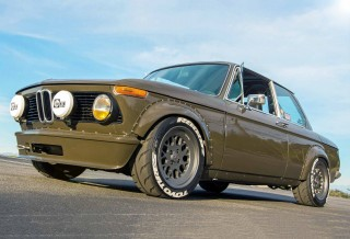 BMW 2002 E10 Stunning wide-arch machine