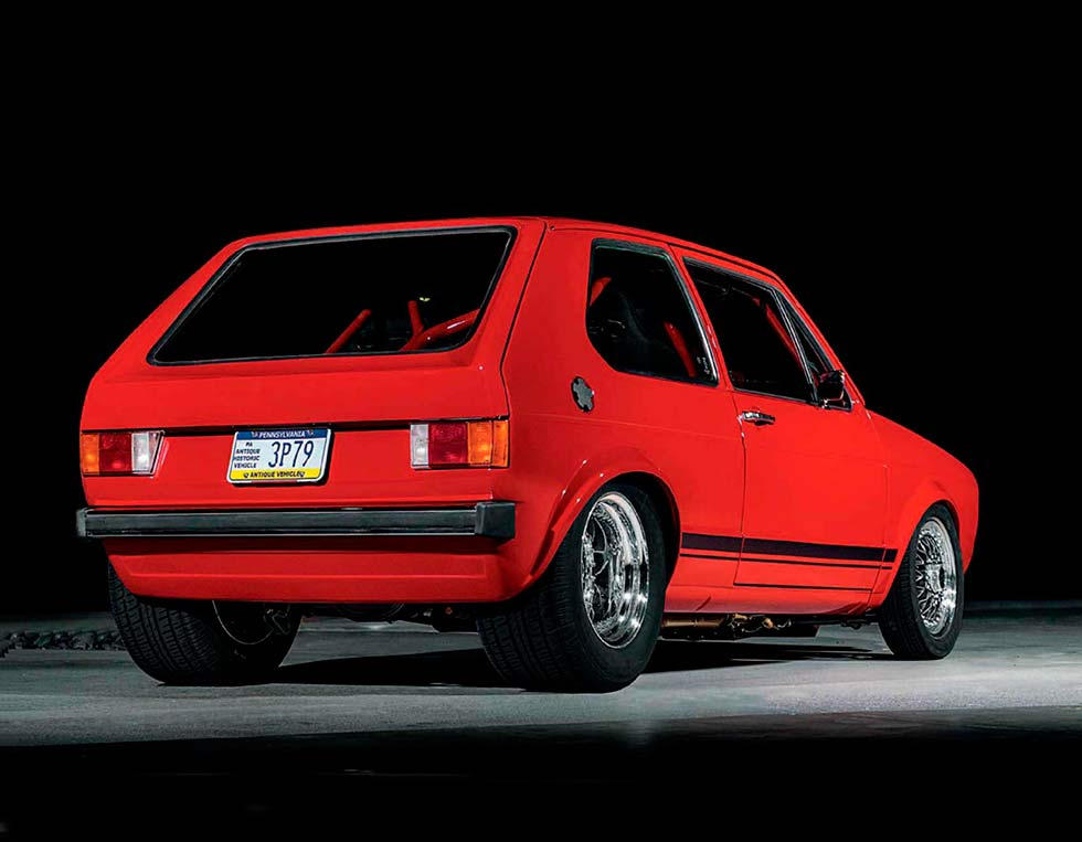 6 0-litre V8-engined Volkswagen Golf GTi Mk1 - Drive-My