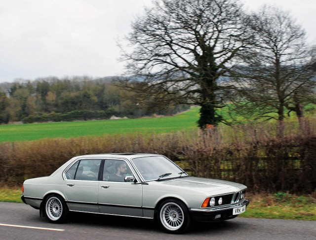 Me and my car 1981 BMW 735i Automatic E23 7-Series