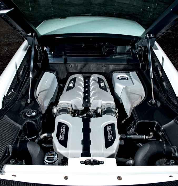 Tuned 861bhp Audi R8 V10 Typ 42 Twin-Turbo - Drive-My Blogs