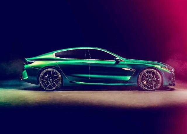 2019 BMW M8 Gran Coupé Concept