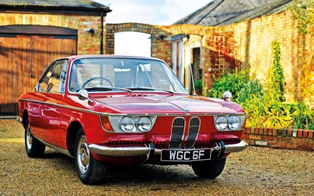 Me and my car 1967 BMW 2000CS Typ 120