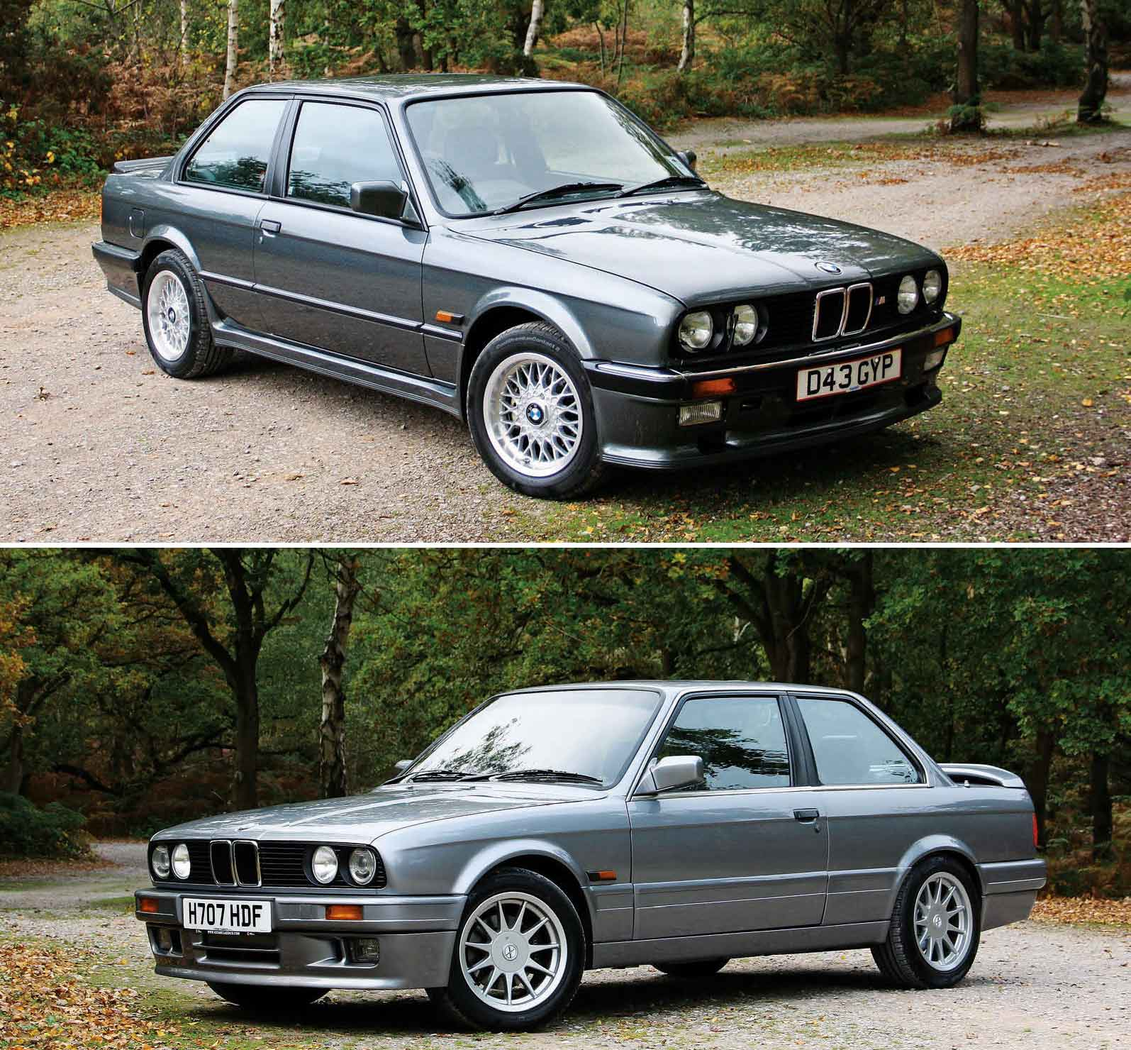 Fully-refurbished E30 Sports BMW 325i E30 M20 vs  BMW 328i