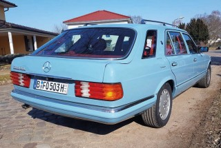 Fred Oehmke's unique Mercedes-Benz W126 Shooting Brake S-Class estate hails from Japan