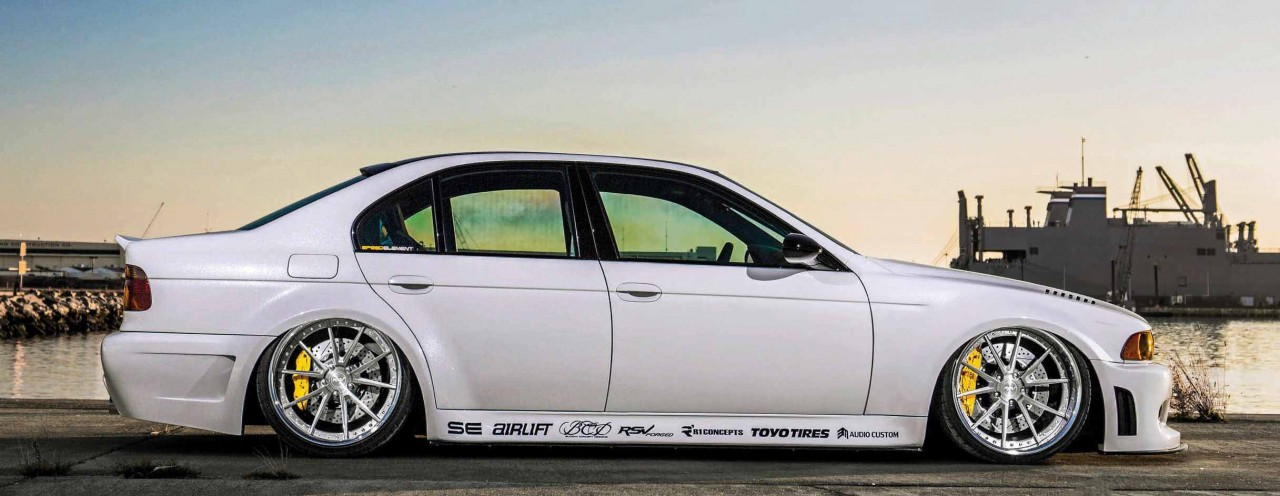 Tuned 560hp Supercharged Custom Metal Wide Body Bmw M5 E39 Drive