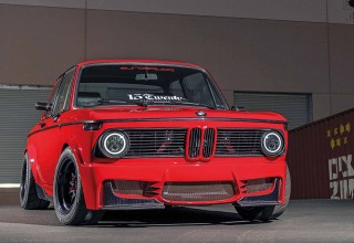 Custom M20-engined 170hp BMW 2002 E10