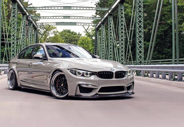 550hp tuned Fashion Grey BMW M3 F80