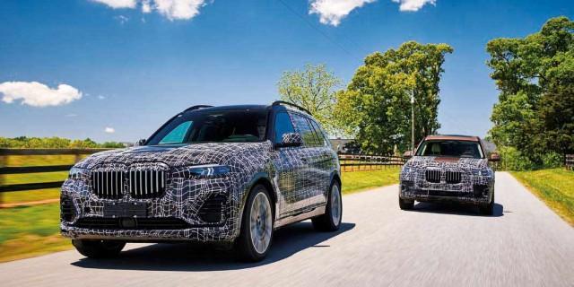 2019 BMW X7 xDrive50i G07 pre-production prototype - road test
