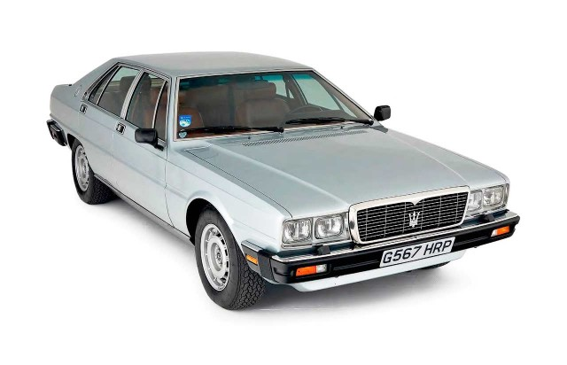 Full Collectors' Guide Maserati Quattroporte / Royale III Tipo AM330 1979-1990