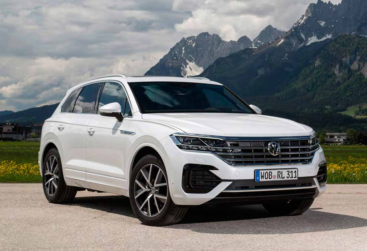 First Test 2019 Volkswagen Touareg R-Line 3 0 V6 TDI 4Motion