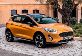 First Test 2019 Ford Fiesta Active Mk8 B479