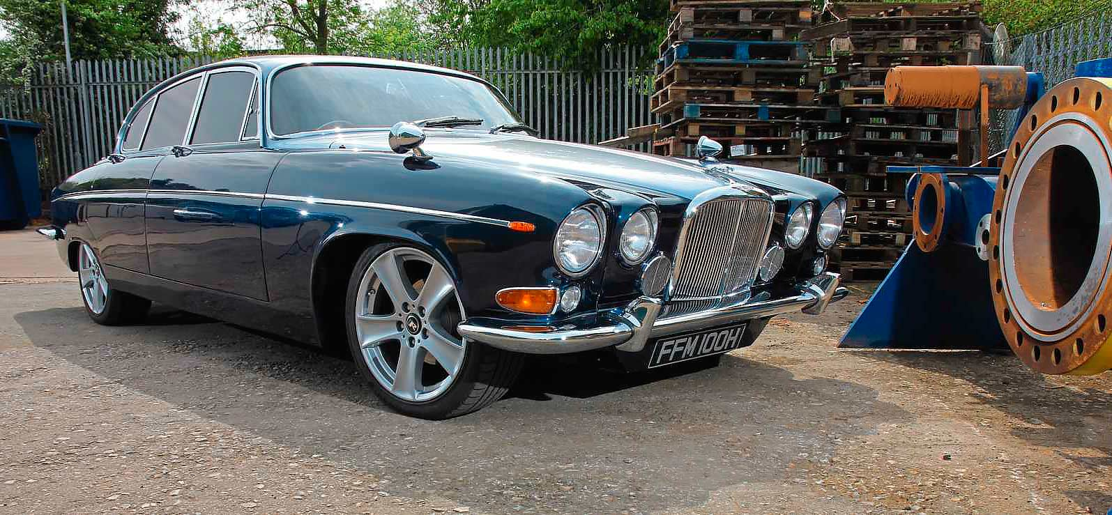 Modified Supercharged 1970 Jaguar 420g Automatic Drive My Blogs Xj6 Manual Transmission
