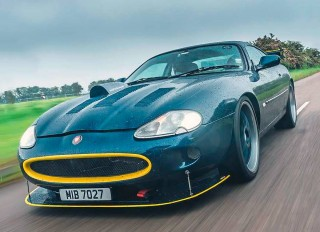 Modified 600bhp UK's most extreme 1998 Jaguar XKR X100