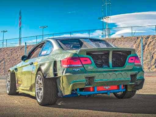 900hp 7 0-litre V8 GM LS7-engined carbon-Kevlar BMW E92 HGK