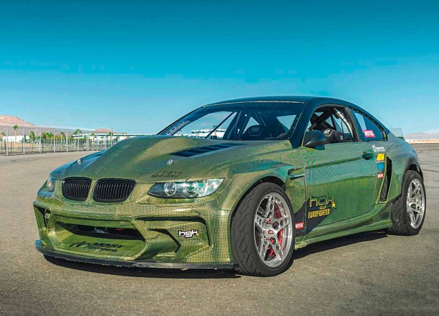 900hp 7.0-litre V8 GM LS7-engined carbon-Kevlar BMW E92 HGK Racing's Eurofighter