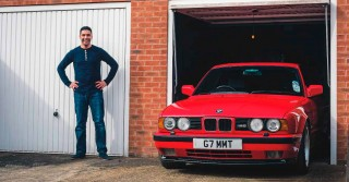 Me and my car 1990 BMW M5 E34 3.6-litre